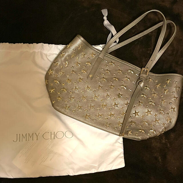 JIMMY CHOO(ジミーチュウ)の断捨離中 JIMMY CHOO 未使用に近い  レディースのバッグ(トートバッグ)の商品写真