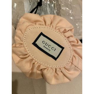 グッチ(Gucci)の未使用 GUCCI ミニ巾着ポーチ 花柄 (ポーチ)