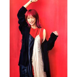 ヒステリックグラマー(HYSTERIC GLAMOUR)のLiSA着用 キャミソールワンピース ドレス(ロングワンピース/マキシワンピース)