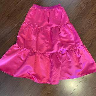 Birthdaybash サテンスカート