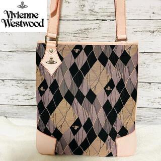 Vivienne Westwood - 【美品】Vivienne Westwood 総柄ショルダーバッグ A4収容サイズ
