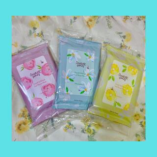 ベキュア(VECUA)のVECUA Honey ワンダーハニー 素肌すっきりクールシャワーシート3種(制汗/デオドラント剤)