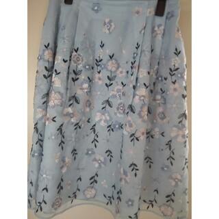 TOCCA - 最終お値下げトッカ お刺繍ブルースカート サイズ2