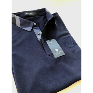 BLACK LABEL CRESTBRIDGE - 新品☆★★ブラックレーベルクレストブリッジ★上質 襟裏チェック ポロシャツ