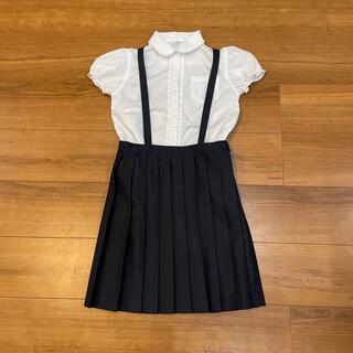 ニシマツヤ(西松屋)の制服風 ブラウスとスカート セットアップ kidsサイズ 140(スカート)
