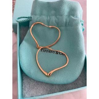 Tiffany & Co. - ティファニー ピアス ゴールド ハート