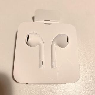 アップル(Apple)のiPhone XR イヤホン【新品未使用】(ヘッドフォン/イヤフォン)