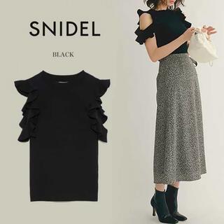 snidel - SNIDEL☆スナイデル フリルニットプルオーバー