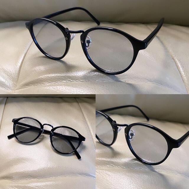 高級 ボストン ブルーレンズ カラーレンズ サングラス メンズ カラーサングラス メンズのファッション小物(サングラス/メガネ)の商品写真