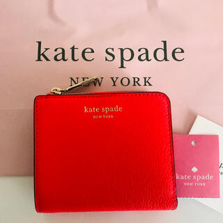 kate spade new york - Kate spade 折り財布 バイカラー☆