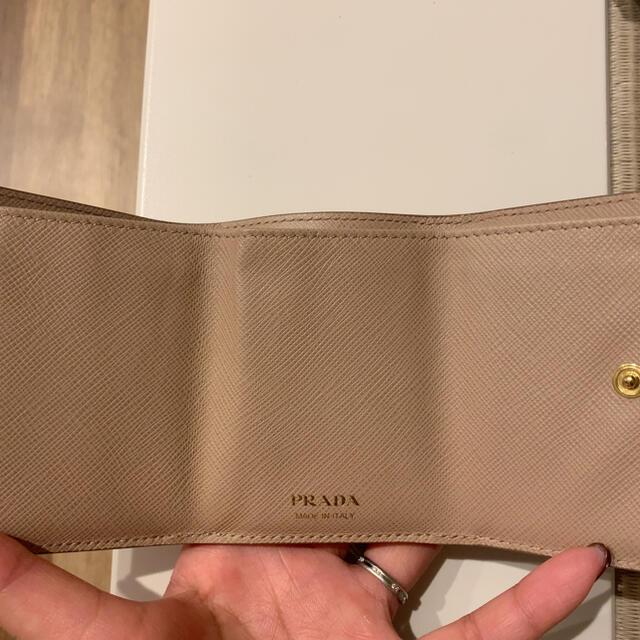 PRADA(プラダ)のPRADA コンパクトウォレット レディースのファッション小物(財布)の商品写真