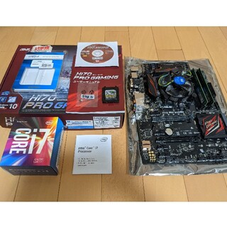 ASUS - i7-6700 ASUS H170 PRO GAMING, 16GB ram
