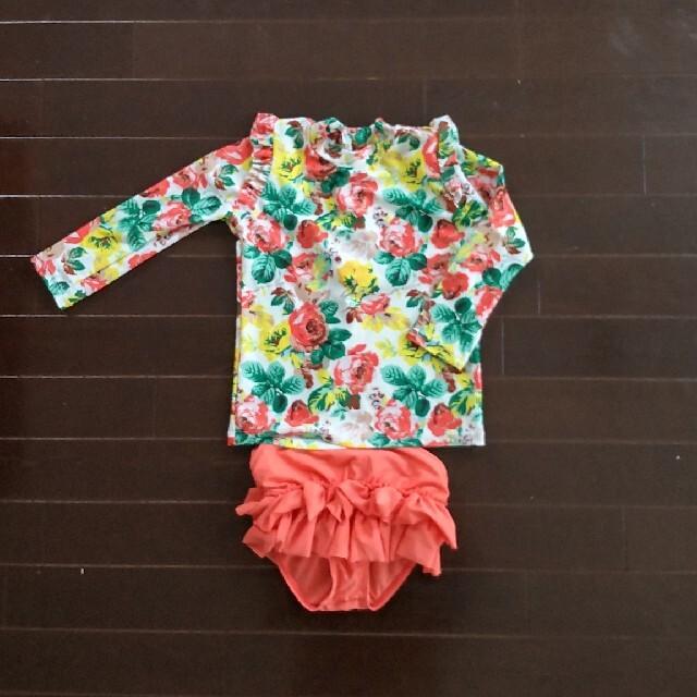キッズ女の子 水着 キッズ/ベビー/マタニティのキッズ服女の子用(90cm~)(水着)の商品写真