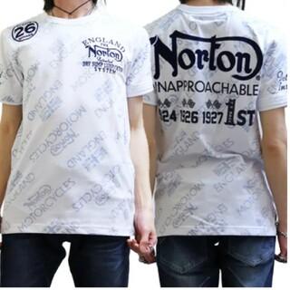 ノートン(Norton)のSALE!!6589円→3990円NORTONノートン吸水速乾 総柄T(Tシャツ/カットソー(半袖/袖なし))