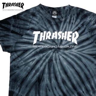 スラッシャー(THRASHER)の*3800 Thrasher スラッシャー  タイダイ ロゴ Tシャツ(Tシャツ/カットソー(半袖/袖なし))