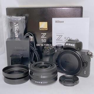 ニコン(Nikon)のNikon z50 ボディ 16-50mm レンズキット(ミラーレス一眼)