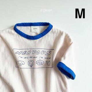 韓国子供服 digreen  リブTシャツ