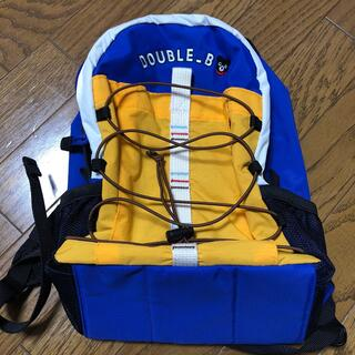 DOUBLE.B - ★新品 DOUBLE-B リュックサック★