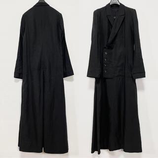 Yohji Yamamoto - ヨウジヤマモト ワイズ y's テーラードジャケットワンピース