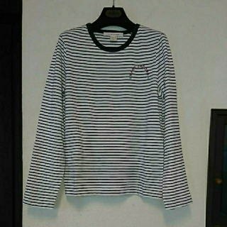 MARC JACOBS - 新品、未使用 MARC JACOBS ボーダー ロゴ入り ロング Tシャツ