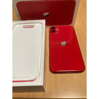 iPhone - iPhone11 64GB SIMフリー RED