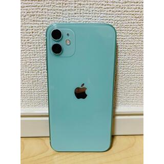 Apple - iPhone11 グリーン 64GB