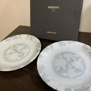レノマ(RENOMA)の【新品未使用】renoma レノマ カレー皿 パスタ皿 2枚セット(食器)