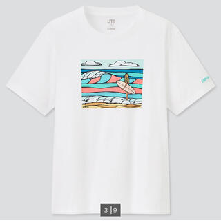 UNIQLO - ヘザーブラウン ユニクロ Tシャツ ティシャツ UT