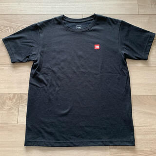 THE NORTH FACE - 【美品】ノースフェイス スモールボックスロゴ Tシャツ ブラック