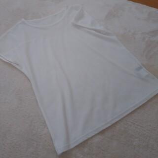 アラミス(Aramis)のタグなし新品 ミズワン ARAMIS   白トップス 38(Tシャツ(半袖/袖なし))