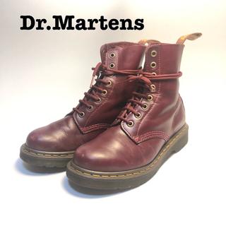 Dr.Martens - ドクターマーチン チェリーレッド 8ホール uk5 24cm PASCAL