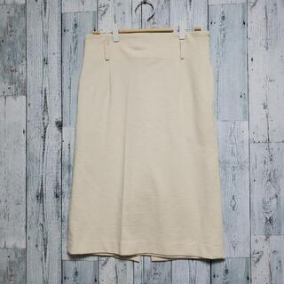 アーバンリサーチ(URBAN RESEARCH)のアーバンリサーチ スカート 38 肌色 ペールオレンジ 日本製 おしゃれ(ひざ丈スカート)