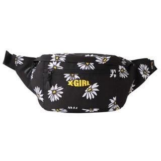 エックスガール(X-girl)のエックスガール MILLS LOGO ADVENTURE HIP BAG 花柄(ボディバッグ/ウエストポーチ)