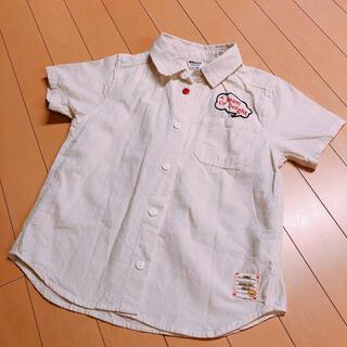 ブリーズ(BREEZE)の美品BREEZE JUNK STORE140、シャツ、Tシャツ男女ok半袖襟付き(ブラウス)