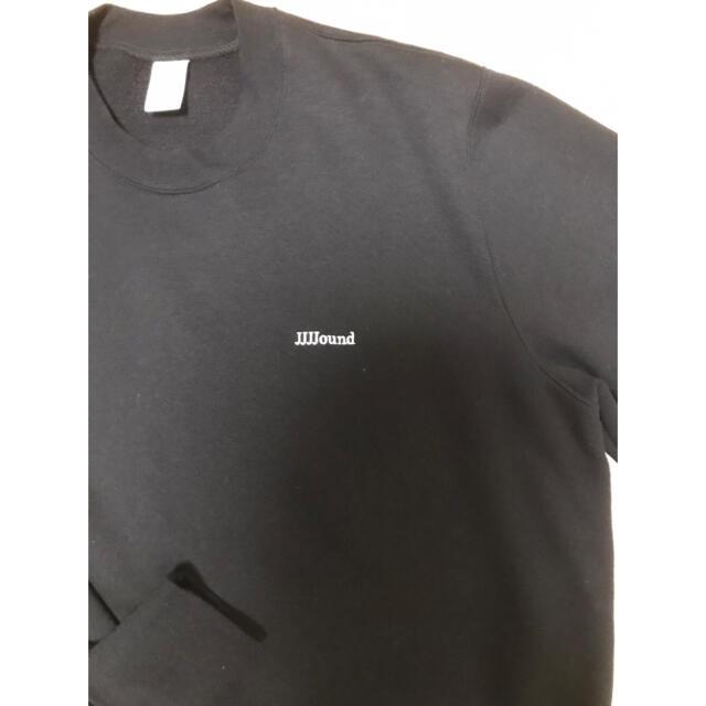 1LDK SELECT(ワンエルディーケーセレクト)のL サイズ jjjjound Black Crewneck メンズのトップス(スウェット)の商品写真