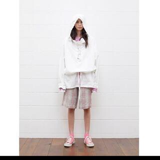 UNUSED - unused Lace up pull over jacket white