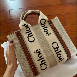 Chloe - クロエ Chloe woody ミディアムトートバッグ