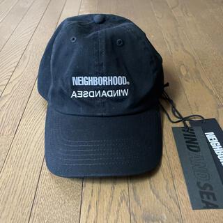 ネイバーフッド(NEIGHBORHOOD)の新品 ウインダンシー ネイバーフッド コラボ  キャップ  黒(キャップ)