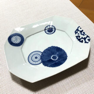 ハサミ(HASAMI)の新品♪  波佐見焼 プレート                白山陶器(食器)