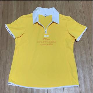 クレージュ(Courreges)のクレージュ ポロシャツ レディース Lサイズ(ポロシャツ)