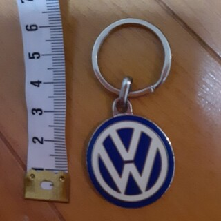 フォルクスワーゲン(Volkswagen)のワーゲン ディーラー 純正 キーホルダー ロゴ(車内アクセサリ)