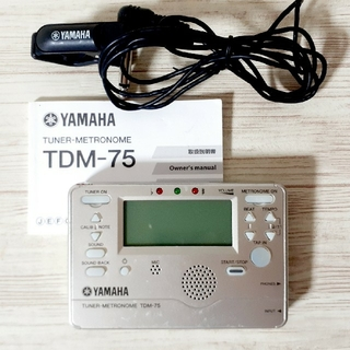 ヤマハ(ヤマハ)のヤマハ TDM 75  チューナーメトロノーム  マイクロフォン(その他)