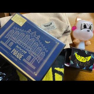 ヘイセイジャンプ(Hey! Say! JUMP)のHey!Say!JUMP PARADE グッズ3点+通常盤DVD(アイドルグッズ)