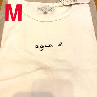 agnes b. - 新品未使用 アニエスベー ちびロゴ 半袖 ティシャツ agnes b.