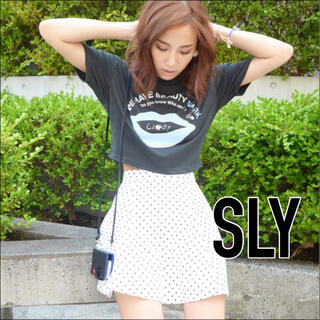 SLY - SLY BEAUTY MARK Tシャツ*ロデオクラウンズ ムルーア ザラ