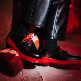 Dr.Martens - CLOT x Dr. Martens BLACK SMOOTH1461 UK10