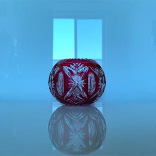 Hermes - ✯ 極レア オールド Saint-Louis アンティーク ピンク 丸鉢✯