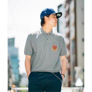 STUSSY - HERITAGEFLOSS × CARSERVICE  pulp別注ポロシャツ