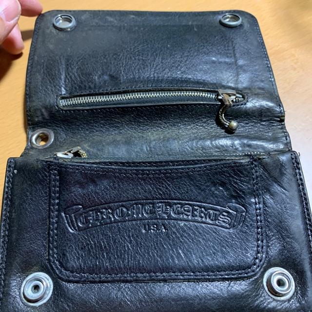 Chrome Hearts(クロムハーツ)のサラさん専用 クロムハーツ 正規品 メンズのファッション小物(折り財布)の商品写真