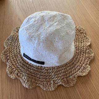 サニーランドスケープ(SunnyLandscape)のサイズ48cm 麦わら帽子(帽子)